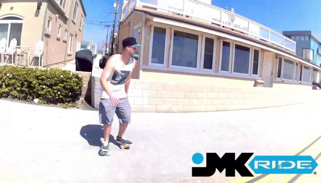 Mattie Tyce Cruising the PB Boardwalk