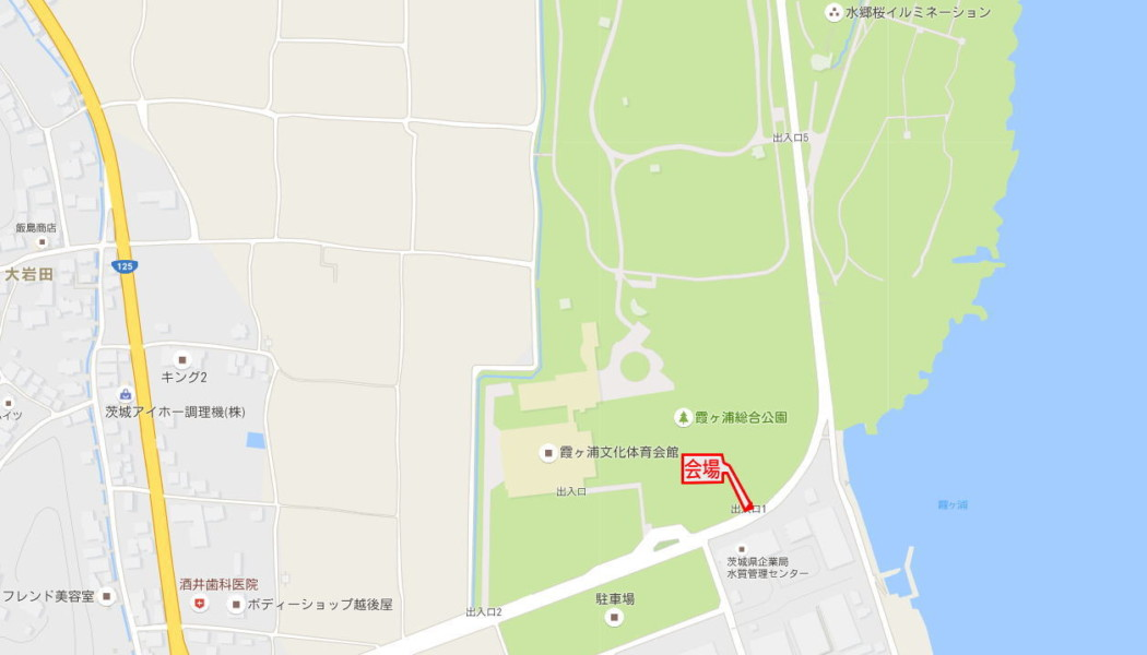 JAPAN OPEN 2016 会場地図